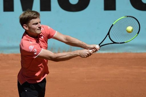ATP Rome: David Goffin débute contre l'Argentin Mayer