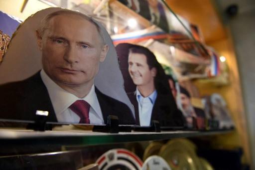 Poutine a rencontré Assad à Sotchi, en Russie, jeudi