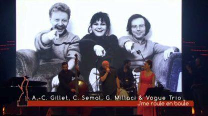 Octaves de la Musique : Anne-Catherine Gillet, Claude Semal et Giuseppe Millaci chantent en l'honneur de Maurane - BX1
