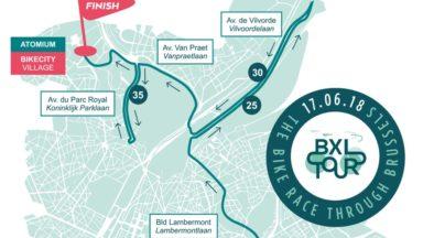 Plusieurs axes de la capitale fermés ce dimanche après-midi en raison de la course cycliste BXL Tour