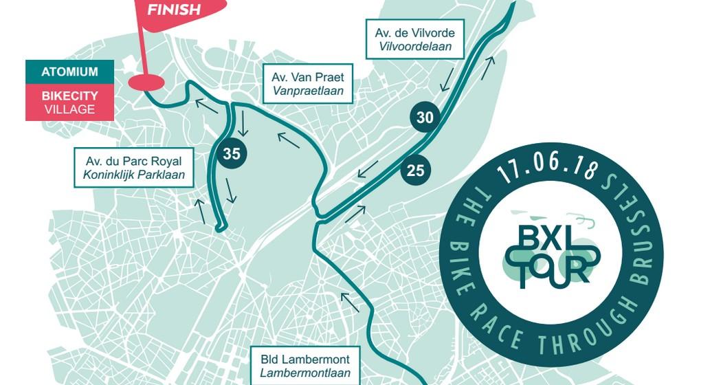 BXL Tour 2018 étendu à 40 kilomètres - bx1