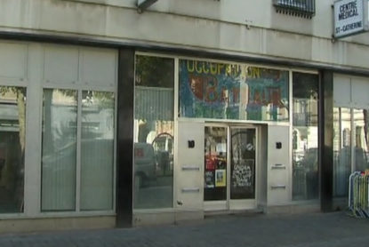 L'occupation d'un bâtiment par 80 sans-abris à Bruxelles menacée faute de moyens - BX1