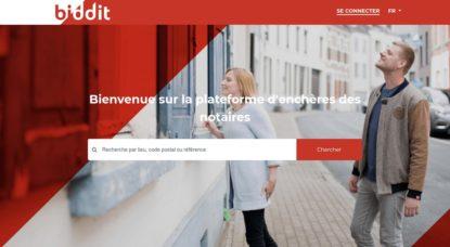 Biddit, le nouveau site des notaires belges pour enchérir sur des biens immobiliers - BX1