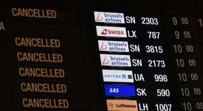 Grève chez Brussels Airlines : 90% des passagers ont trouvé une alternative - BX1