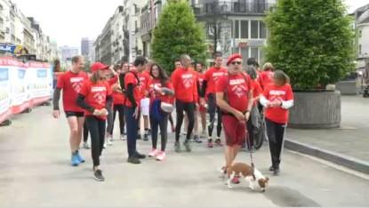 running sportif de la CGSP le 1er Mai - BX1