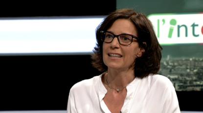 """Joëlle Maison (Défi) dans l'émission """"L'interview"""" sur BX1 à propos de la pénurie d'enseignants"""