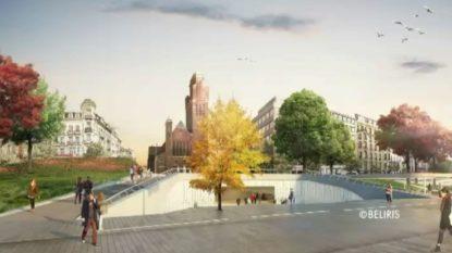Schaerbeek retient deux propositions pour la station de métro Riga - BX1