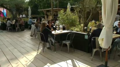 La terrasse O2 ouvre ce vendredi soir sur le site de l'ancien hippodrome de Boitsfort - BX1