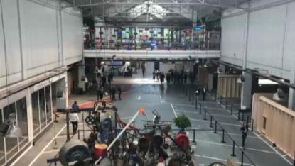 Inauguration du Kanal-Centre Pompidou