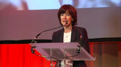 Laurette Onkelinx discours du 1er Mai à la Maison du peuple de Saint-Gilles - BX1