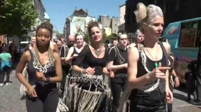 Zinneke Parade en répétition générale - BX1