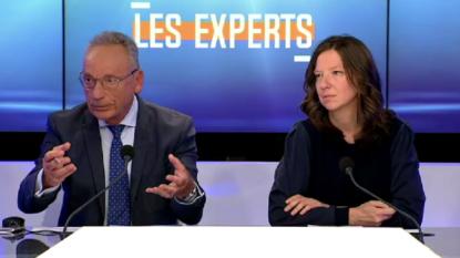 """Francis Delpérée (CDH) et Magalie Plovie (Ecolo) à propos de la transparence communale dans l'émission """"Les experts"""" sur BX1"""