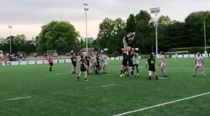 Rugby: Dendermonde champion après sa victoire en finale contre La Hulpe au petit Heysel - BX1
