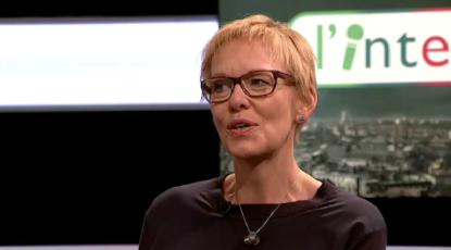 Karine Lalieux à propos de la dépénalisation de l'avortement sur BX1