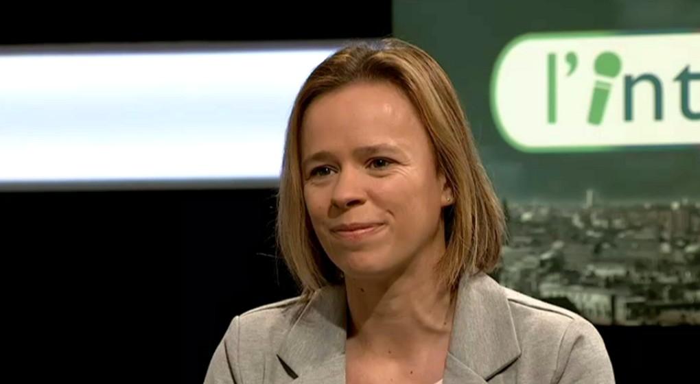 """Caroline Désir à propos de l'allongement de la pension dans l'émission """"L'interview"""" sur BX1"""