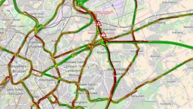 Ring de Bruxelles : des files vers Zaventem à cause d'un accident, la voie est dégagée