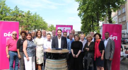 Elections communales: Défi présente sa liste à Bruxelles-ville