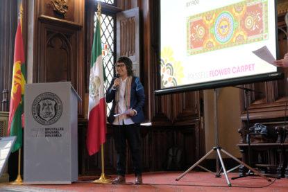 Le Mexique à l'honneur pour la présentation du tapis de fleurs 2018 - BX1