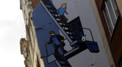 Remise à neuf et ajout de fresque BD à Bruxelles - BX1