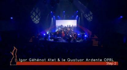 Igor Gehenot 4tet et le Quatuor Ardente de l'OPRL, en duo dans les Octaves de la Musique 2018 - BX1