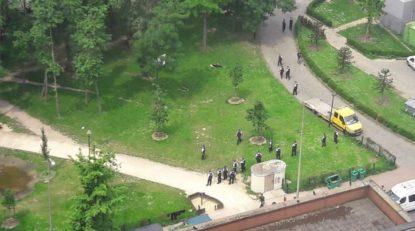 Action au Parc Maximilien pour déloger quelque 150 migrants - BX1