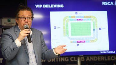 Des transferts, 1000 places en plus, des nouveaux restaurants… : voici les plans de Marc Coucke pour le RSC Anderlecht