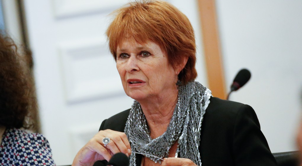 Martine Payfa (DéFI) au parlement de la région Bruxelloise