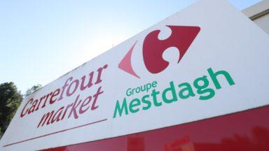 Carrefour Mestdagh : une réunion de conciliation prévue lundi vers midi