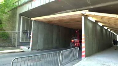 La circulation sous le pont Grosjean reprendra finalement plus tôt, dès ce jeudi 10 mai