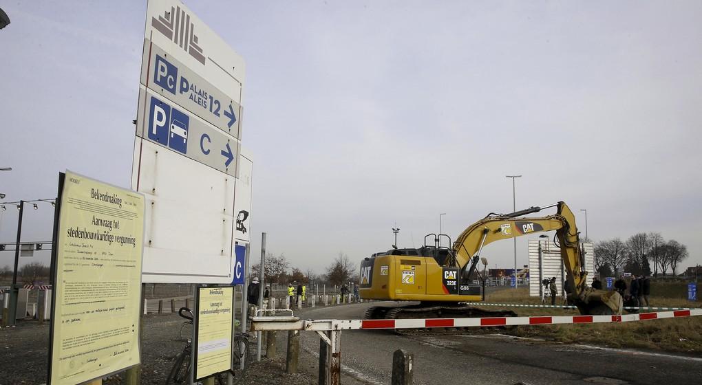 Nouveau parking au Heysel prévu - BX1