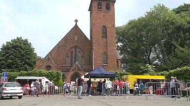 Uccle : le nouveau marché hebdomadaire du Parvis Chantecler s'est ouvert ce mercredi