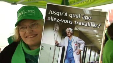 """Giuseppina, 45 ans, et Françoise, 58 ans, ont décidé de manifester : """"On ne se voit pas travailler jusque 67 ans"""""""