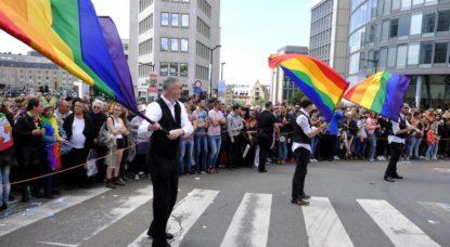 Le parcours de la Pride Parade ce samedi 19 Mai - BX1