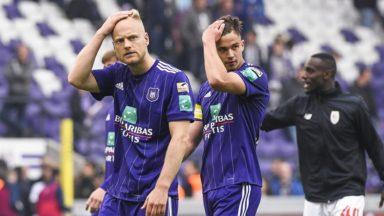 Le RSC Anderlecht en mauvaise posture en Playoffs 1 : voici les scénarios pour encore croire au titre