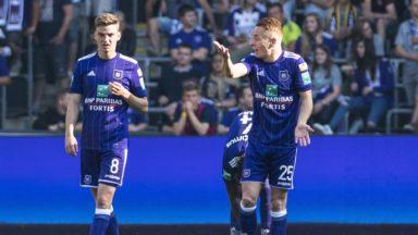 Anderlecht perd 1-2 face à Genk, les Mauves n'iront pas en Ligue des champions