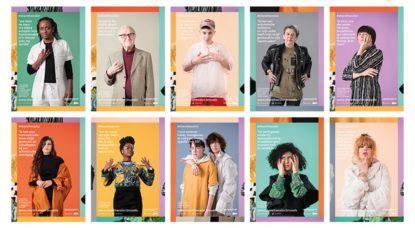 #ShareTheColor : la campagne bruxelloise qui célèbre la diversité de genres et de sexualités - BX1