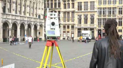 """La Grand'Place de Bruxelles est passée au """"scanner"""" pour révéler son histoire - BX1"""