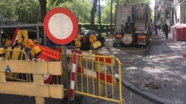 Bruxelles : un chantier arrêté pour suspicion de non-respect des règles sanitaires