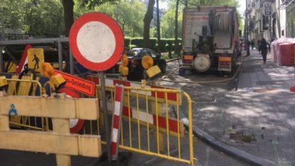 Chantier inconnu à avenue louise sur Bruxelles - BX1