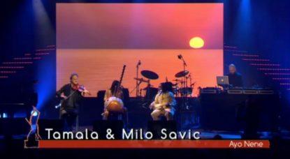 Tamala et Milo Savic réussissent un duo original lors des Octaves de la Musique 2018 - BX1