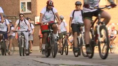 """260 km en trois jours : le """"défi vélo"""" relevé haut la main par les élèves de Saint-Joseph"""