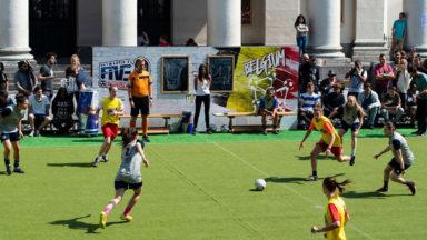 Les joueuses du RWDM remporte la finale du Neymar Jr's Five et représenteront la Belgique en finale mondiale au Brésil