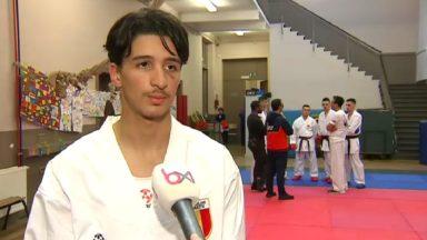 Karaté : le Molenbeekois Walid Deghali se prépare en vue des championnats d'Europe
