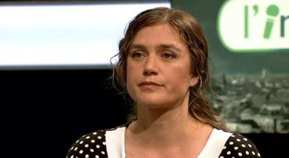 """Zoé Genot à propos d'une politique d'intimidation du gouvernement fédéral dans l'émission """"L'interview"""" sur BX1"""