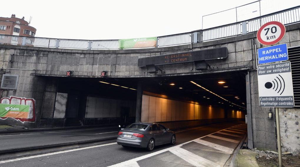 Trois tunnels fermés à Reyers: une heure de pointe normale ce matin - BX1