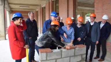 Saint-Gilles: début des travaux pour la plus grande crèche de la capitale