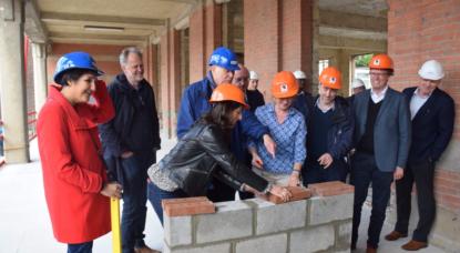 début des travaux de la plus grande crèche de Bruxelles dans le site de l'ancienne École centrale des Arts et Métiers - BX1