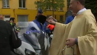 Jette : le curé des bikers bénit les bécanes