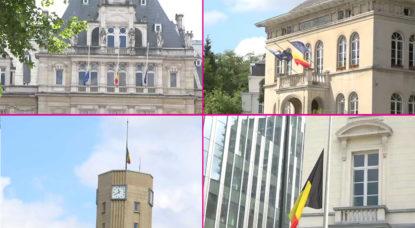 Tuerie Liège : les drapeaux sont en berne dans plusieurs communes bruxelloises - BX1