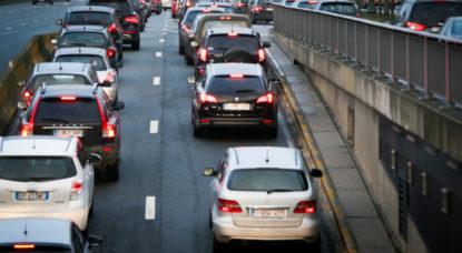 Bruxelles, l'une des trois villes les plus touchées par les embouteillages - BX1